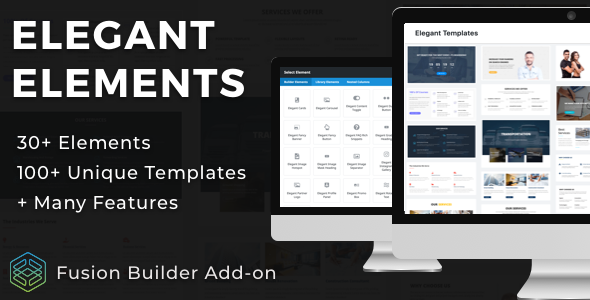 Photo of Get Elegant Elements for Fusion Builder and Avada Download