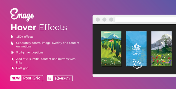 Photo of Get Emage – Image Hover Effects for Elementor Download
