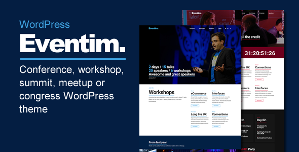 Photo of Get Eventim – Conference & Events Theme Download