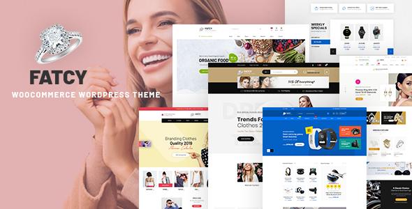 Fatcy - Multipurpose WooCommerce WordPress Theme