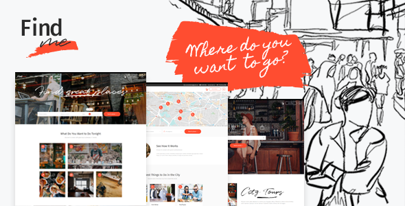 Photo of Get FindMe – Directory Listing Theme Download