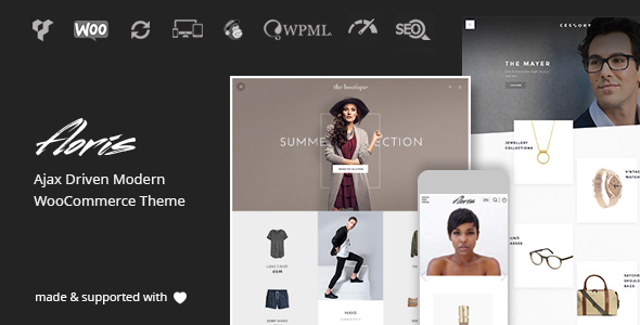 Photo of Get Floris – Fashion Shopping Theme Download