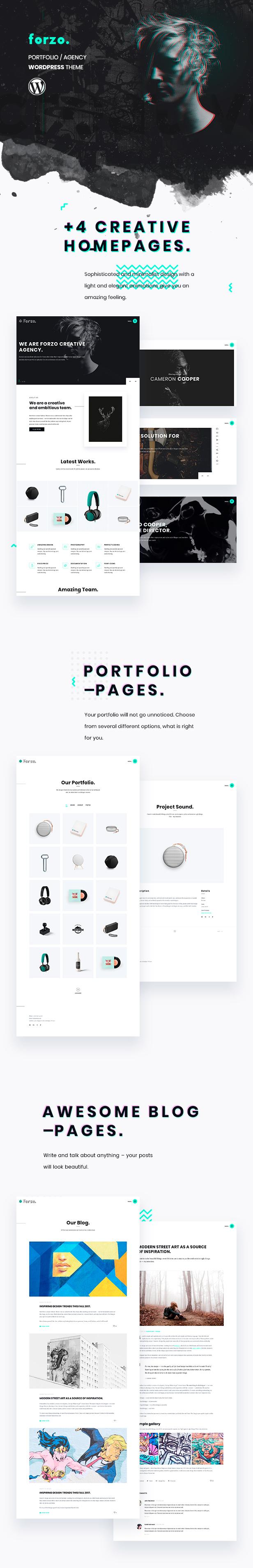 Forzo | Agency/Portfolio Theme - 3