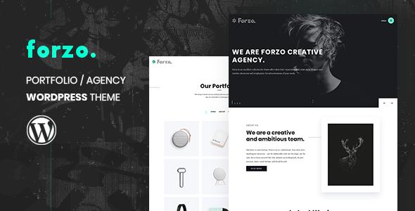 Photo of Get Forzo | Agency/Portfolio Theme Download