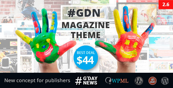 Photo of Get GDN Magazine Theme Download