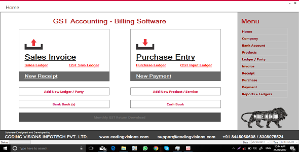 Photo of Get GST Accounting Software | Source Code Download