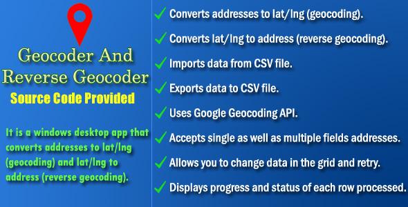 Photo of Get Geocoder and Reverse Geocoder – Source Code Download