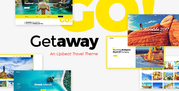 Photo of Get Getaway – Travel & Tourism Theme Download