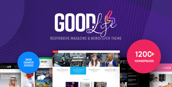 Photo of Get GoodLife – Magazine & Newspaper WordPress Theme Download