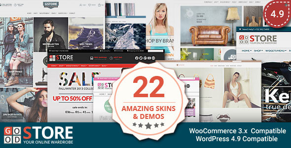 Photo of Get GoodStore – WooCommerce Theme Download