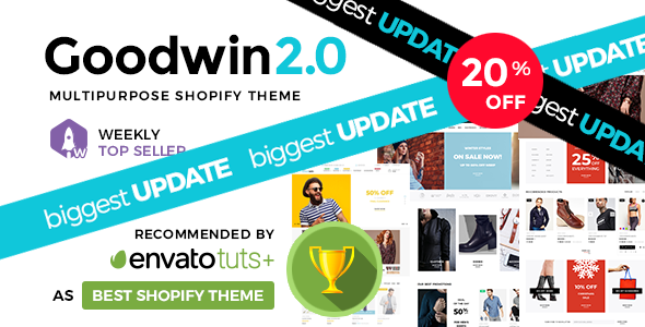 Photo of Get Goodwin – Ultimate Responsive Shopify Theme Download
