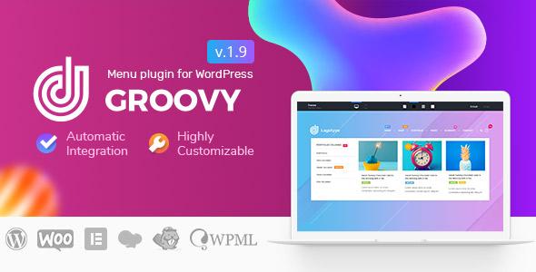 Photo of Get Groovy Mega Menu – Responsive Mega Menu Plugin for WordPress Download