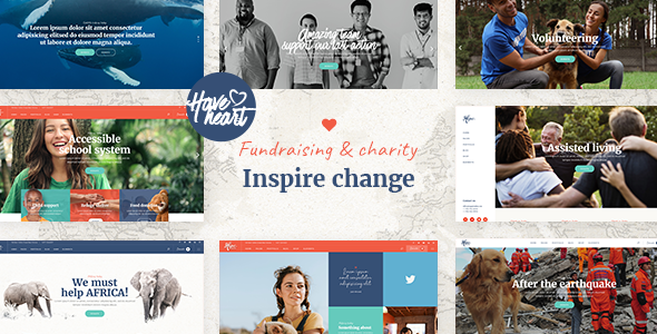 Photo of Get HaveHeart – Fundraising and Charity Theme Download