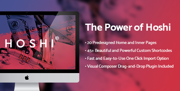 Photo of Get Hoshi – Digital Agency Theme Download