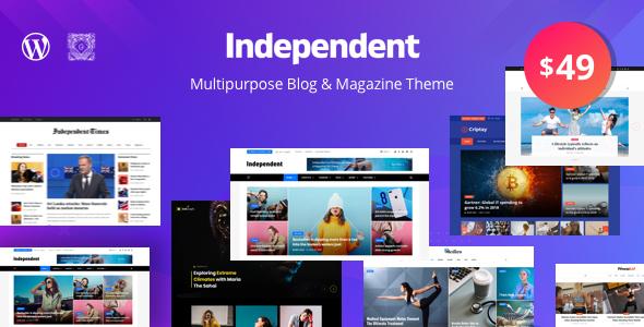 Photo of Get Independent – Multipurpose Blog & Magazine Theme Download