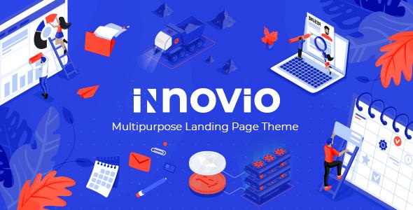 Photo of Get Innovio – Multipurpose Landing Page Theme Download