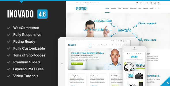 Photo of Get Inovado – Retina Responsive Multi-Purpose Theme Download