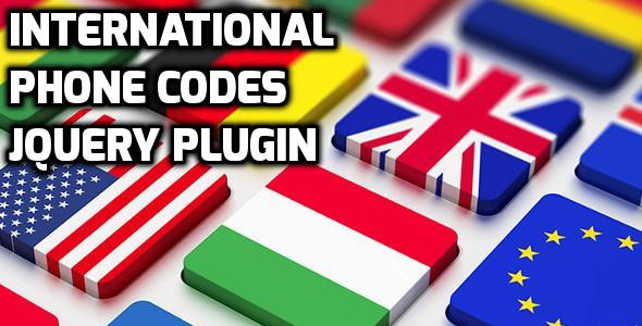 Photo of Get International Phone Codes jQuery Plugin Download