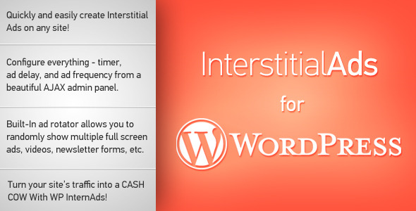 Photo of Get Interstitial Ads for WordPress Download
