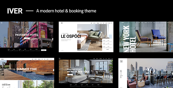 Photo of Get Iver – Modern Hotel Theme Download