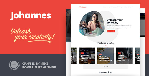 Photo of Get Johannes – Personal Blog Theme for WordPress Download