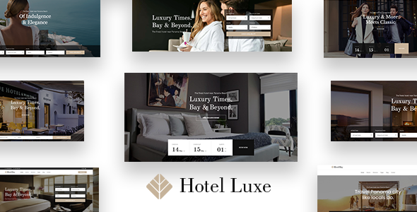 Photo of Get Luxe – Hotel WordPress Theme Download