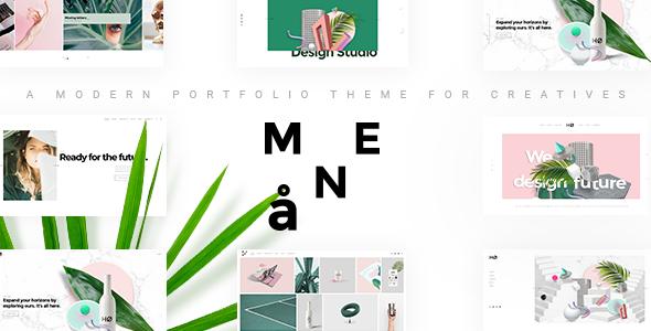 Photo of Get Måne – Creative Portfolio Theme Download