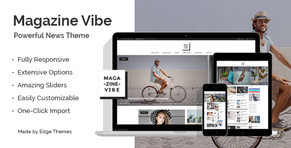 Photo of Get Magazine Vibe – Newspaper Theme Download