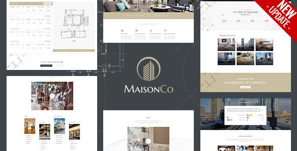 Photo of Get MaisonCo – Single Property WordPress Theme Download