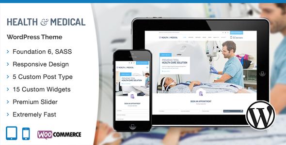 Photo of Get Medical WordPress Theme Download