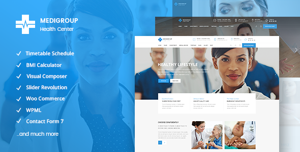 Photo of Get Medigroup – Medical and Health Theme Download