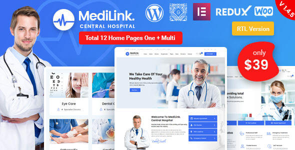 Photo of Get Medilink – Health & Medical WordPress Theme Download