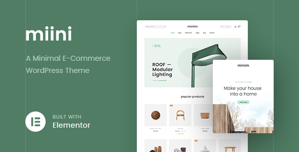 Photo of Get Miini – A Minimal WooCommerce Theme Download