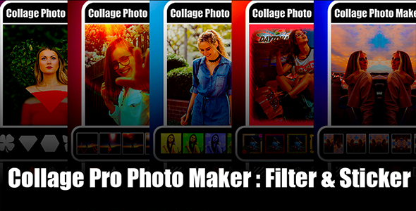 Photo of Get New Photo Collage Editor & Collage Pro Android App with Admob Ads Full Code, Guide Download
