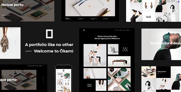 Photo of Get Okami – Portfolio Theme Download