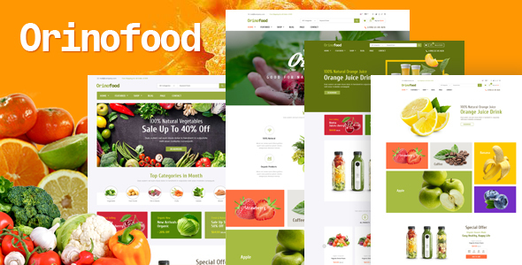 Photo of Get Orinofood – Organic Opencart Theme Download