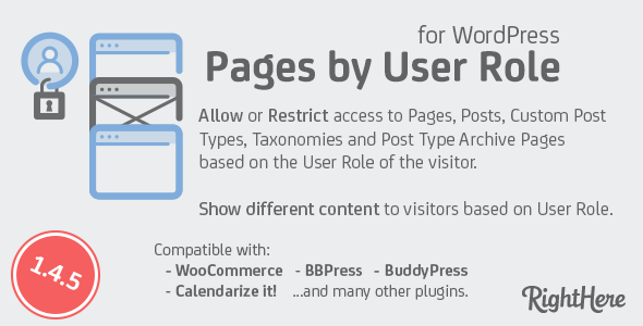 Photo of Get Pages by User Role for WordPress Download