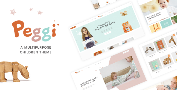 Photo of Get Peggi – Multipurpose Children Theme Download