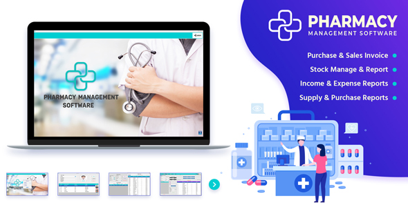 PharmaSale - Pharmacy Management Desktop Software with Full Source Code
