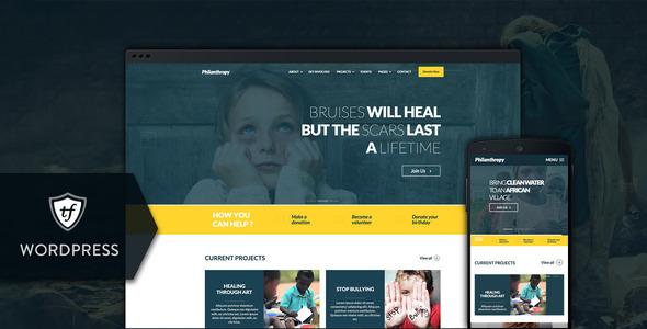 Photo of Get Philanthropy – Nonprofit WordPress Theme Download