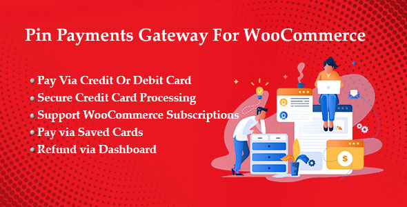 Photo of Get Pin Payments Gateway For WooCommerce Download