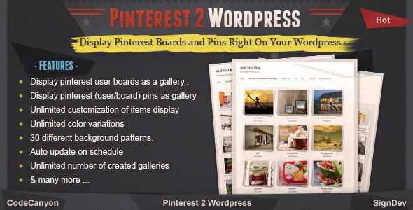 Photo of Get Pinterest to WordPress – WordPress Pinterest Gallery Plugin Download