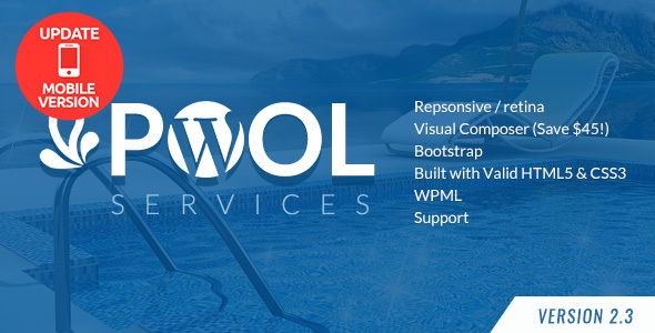 Photo of Get Pool Services WordPress Theme Download