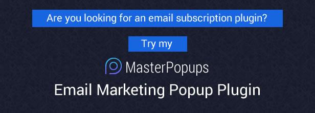 Popup Press - Popups with Slider & Lightbox for WordPress - 1