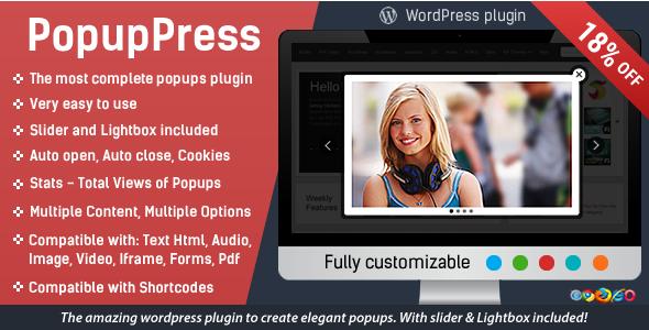 Photo of Get Popup Press – Popups with Slider & Lightbox for WordPress Download