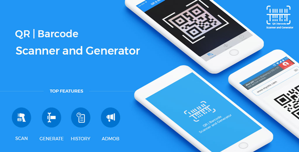 Photo of Get QR Code & Barcode Scanner and Generator for iOS Swift with AdMob Download