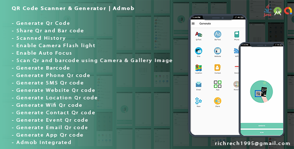 Photo of Get QR Code Scanner & Generator Android | Admob Download