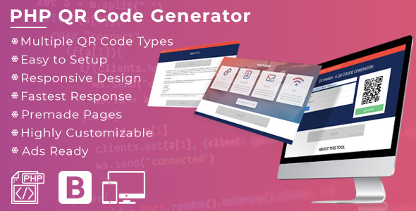 Photo of Get QR Maker – A PHP QR Code Generator Download