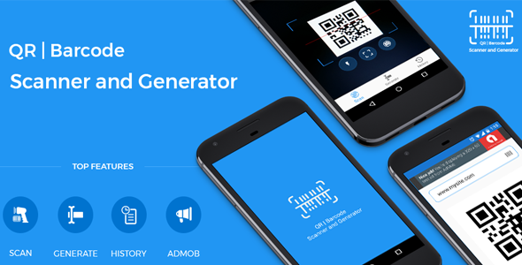 Photo of Get QR code and Barcode scanner and generator for Android with AdMob Download