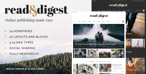 Photo of Get Read and Digest – Newspaper Theme Download